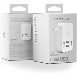 ENERGY SISTEM 4.0A Quad usb
